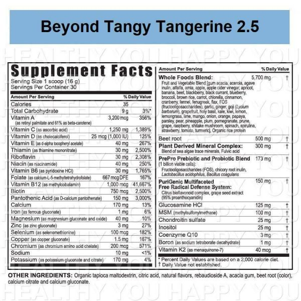 Beyond Tangy Tangerine 2.5 [2 PACK] Youngevity New & Improved Twin 1