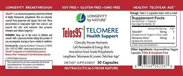 Telomere Function- Lengthen your Telomeres in Just 6 Months- Protect your DNA 4