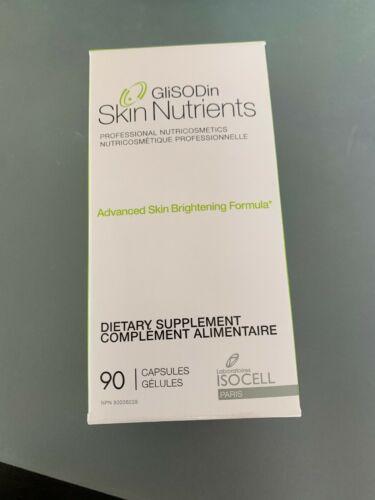 Glisodin Skin Nutrients-Advanced Skin Brightening Formula 90 Caps, Exp: 05/23