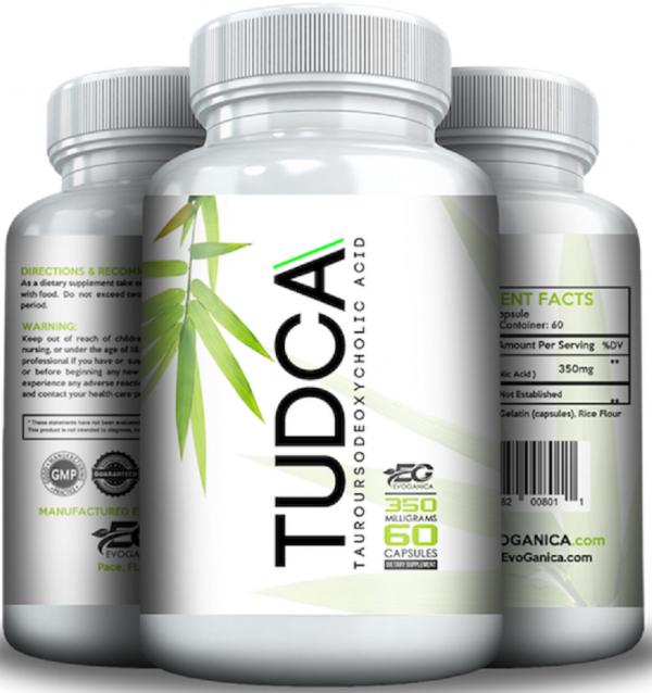 TUDCA (350mg x 60) by EVOGANICA