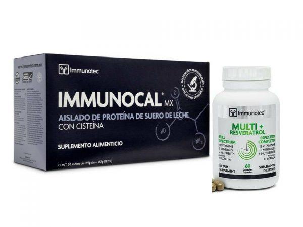 IMMUNOCAL MX & Multi-Reservatrol /  Immune System Detoxify Antioxidant