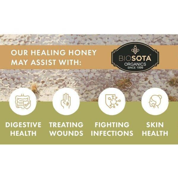 Biosota Organics-Manuka Honey MGO 1200+ 250g (Last Chance) 6