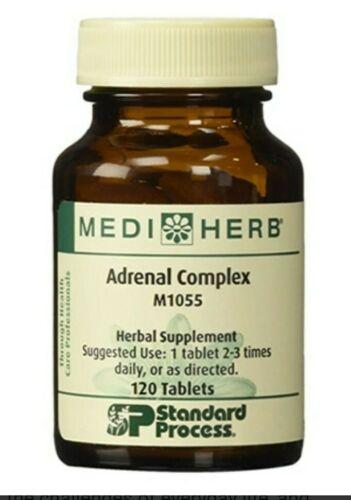 Standard Process MediHerb Adrenal Complex 120 tabs M1055 Exp 2022/2023 Sealed
