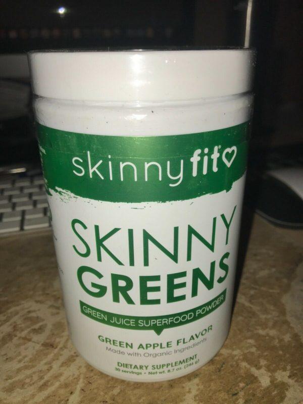 Skinnyfit  SKINNY GREENS  GREEN JUICE superfood powder FAST SHIP skinny fit