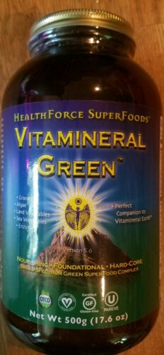 Health Force Vitamineral Green Powder  500 grams Low Price, Free Ship
