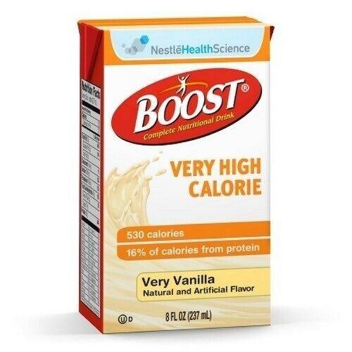 Boost VHC 8oz Brikpaks 27/Case **2 CASE SPECIAL**, Very Vanilla