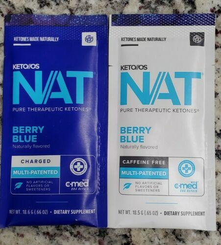 Pruvit KETO OS NAT Berry Blue 5 Packets