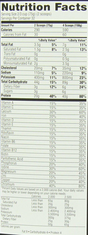 CYTOSPORT MUSCLE MILK Collegiate 5.29 lb. Powder - Chocolate 3