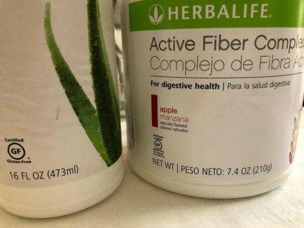 HERBALIFE Digestive Combo, Herbal Aloe, 21Day Balancing, Active Fiber, Probiotic 1