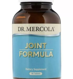 Dr. Mercola Joint Formula 90 Tablets Expires 7/22 New Sealed