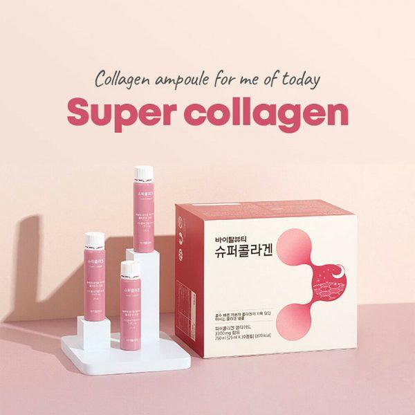 Vital Beautie VB Super Collagen Drink Ampoule 750ml (25ml x 30 EA) 1