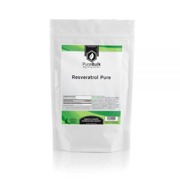 Trans Resveratrol Powder 3rd Party Tested for Anti-Aging, Longevity (Variations)