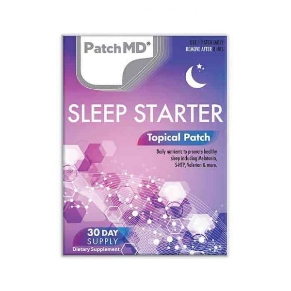 PatchMD Sleep Starter Topical Patch 30 Day Supply Supplement Patch-MD Ex 2022* 2
