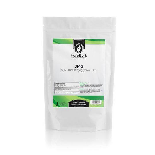 N,N-Dimethyl Glycine HCl (DMG) Powder Pure Lab Tested PureBulk (Variations)