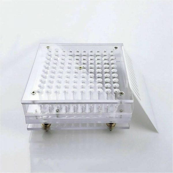 Capsules Filling Machine Manual Glass 100 Hole Size 4 5 with Tamper Tool 3