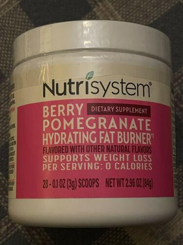 💕 Nutrisystem Berry Pomegranate Hydrating Fat Burner Dietary Supplement 28 Svg
