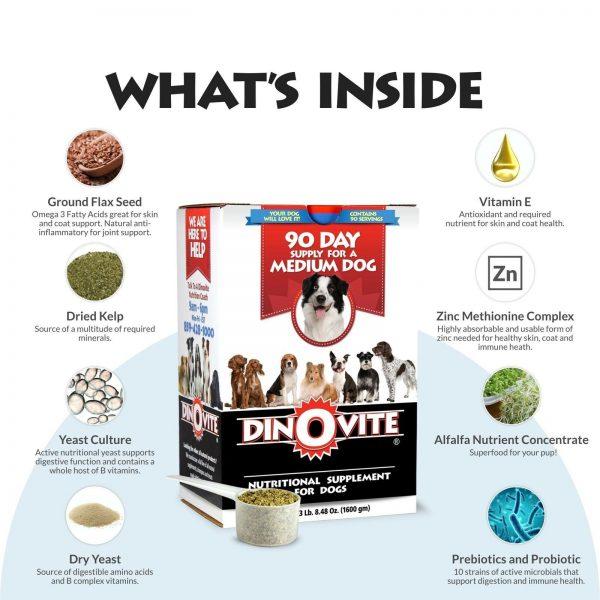 Dog Supplement - Immune + Digestive, Skin + Coat Support, Vitamins, Miner... New 1
