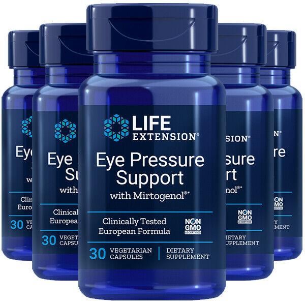 Eye Pressure Support W/ Mirtogenol 5X30Caps Life Extension Pycnogenol