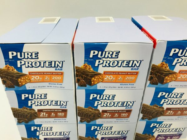 Pure Protein Bars, 3 x Classic Variety Pack, 18 Bars/Box | Low Sugar Gluten Free 1