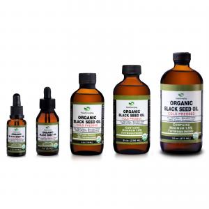Black Seed Oil - 100% Pure Organic Cold Pressed Cumin Nigella Sativa USDA Fresh 1