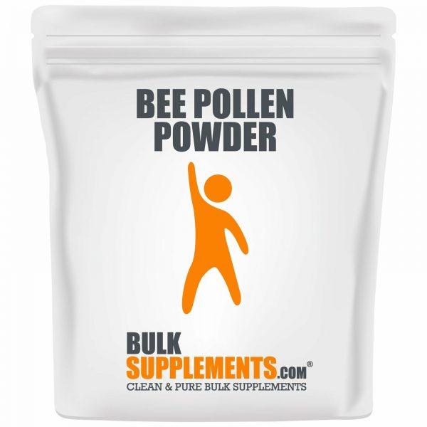 BulkSupplements.com Bee Pollen Powder - Bee Pollen for Bearded Dragons