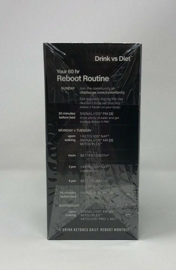 Pruvit Keto Reboot System Kit 60 hours Expires 03/2022 New/Sealed 2