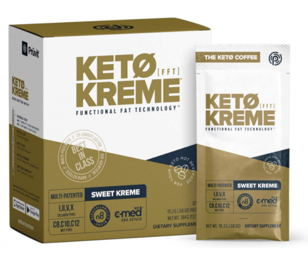 Pruvit Keto Sweet Kreme 5,10 & 20 Packets Flavor Dietary Supplement Exp: 01/2023