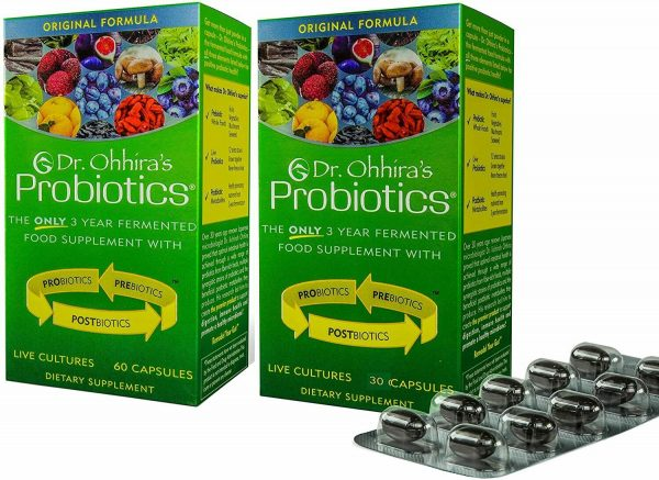Essential Formulas  Dr. Ohhira's Probiotics Original Formula 120 Caps total