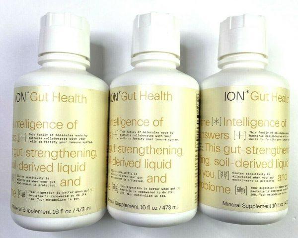 3X ION Biome Gut Health Digestive Wellness 16 oz 1 Month Supply Each 09/2025