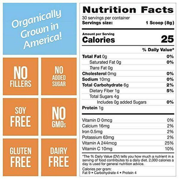 Grown American Superfood: 31 Organic Whole Fruits & Veggies in Every Scoop! (2) 4