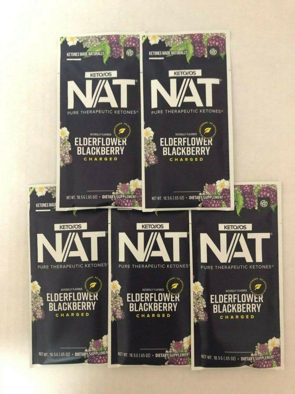 Pruvit KETO OS NAT Elderflower Blackberry Charged 5,10 & 20 Packets FreeShipping 2
