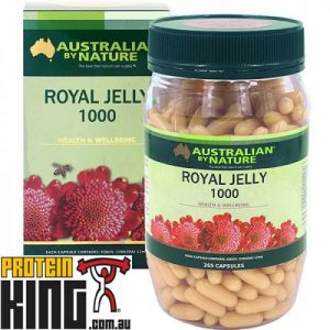 AUSTRALIAN BY NATURE ROYAL JELLY 1000MG 365 CAPSULES vitamin a c d e b minerals