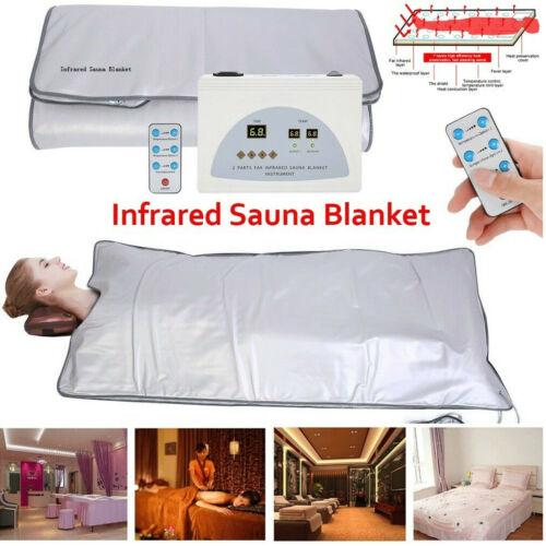 Best 3Zone Sauna Blanket Weight Loss Far-Infrared(FIR) Salon Detox Slimm Machine