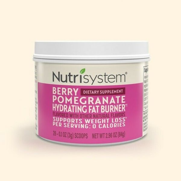 NEW Nutrisystem Berry Hydrating Fat Burner weight loss turbo booster 28 servings