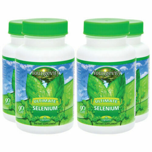 Youngevity Ultimate Selenium 90 capsules (4 Pack) Dr. Wallach