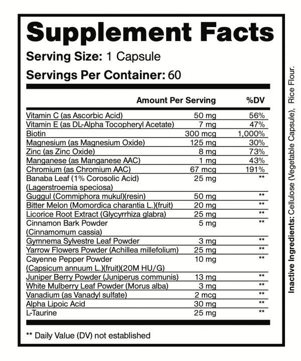 2 Bottles Altai Balance Supports Blood Sugar, Glucose Metabolism 60 Capsules 3