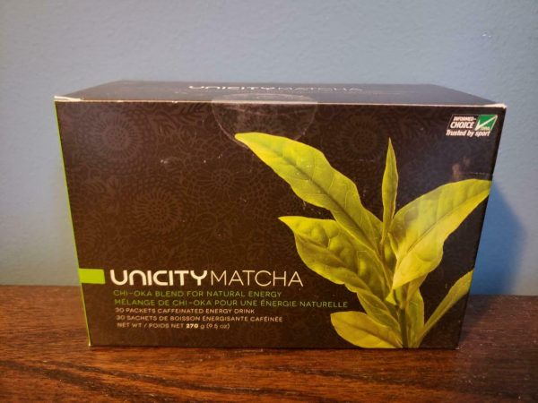 Unicity Matcha Chi-Oka Blend for Natural Energy 30 Packets - New! Exp 10/2021