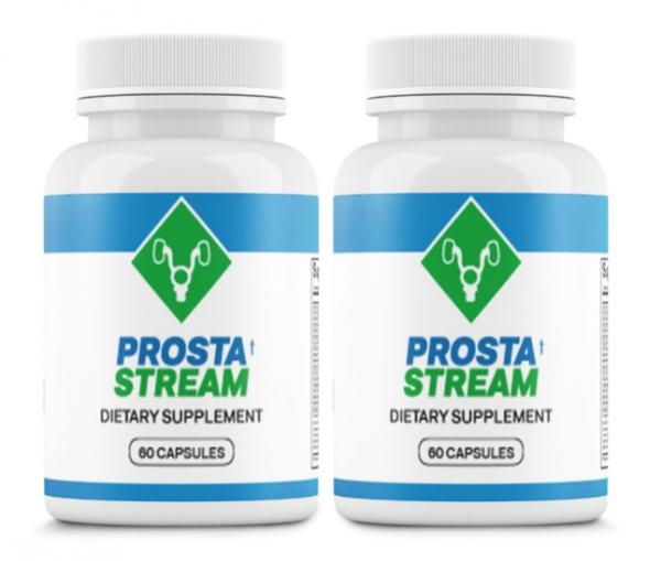 (2 Bottles) ProstaStream - Prosta Stream - Prostate Support Supplement 60 Caps