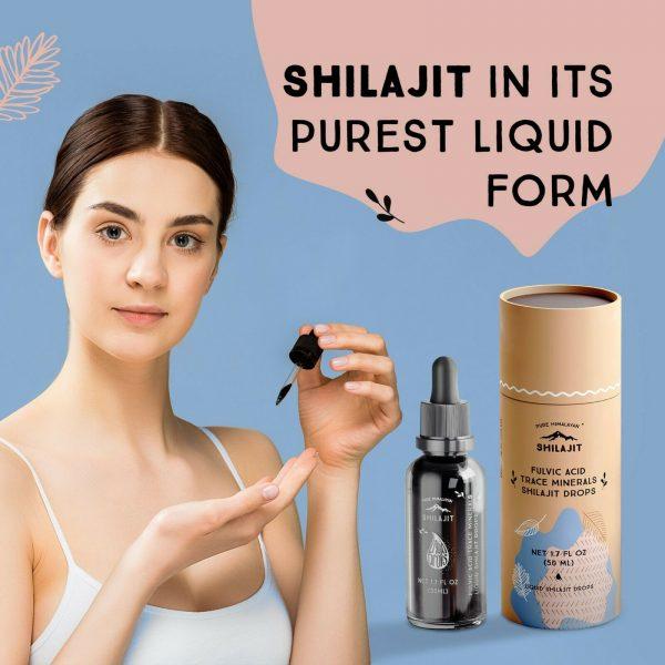 Fresh & Liquid_Shilajit Extract, 50ml - Extra Pure 99.9% 1