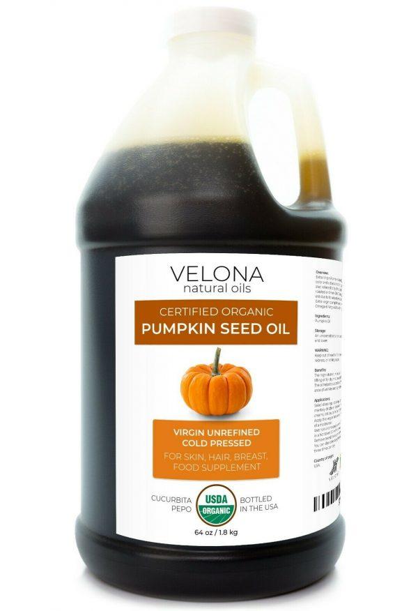 Velona Pumpkin Seed Oil USDA Certified Organic 2oz-7lb Virgin Unrefined Cooking  8