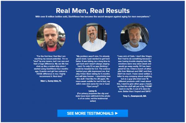 New 3 Month SizeVitrexx Male Enhancement Supplement 2
