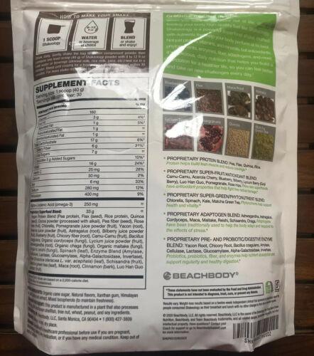 Brand New Shakeology • Exp 11/2021 • Vegan Chocolate Bag 30 Day Servings!!! 1