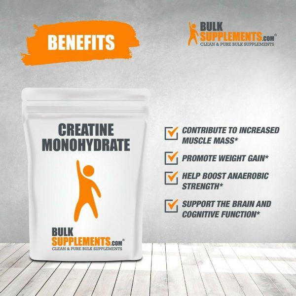 BulkSupplements.com Creatine Monohydrate (Micronized) 3