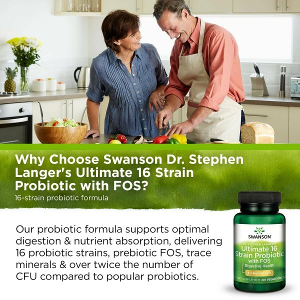Swanson Dr. Stephen Langer's Ultimate 16 Strain Probiotic with Prebiotic Fos ... 5