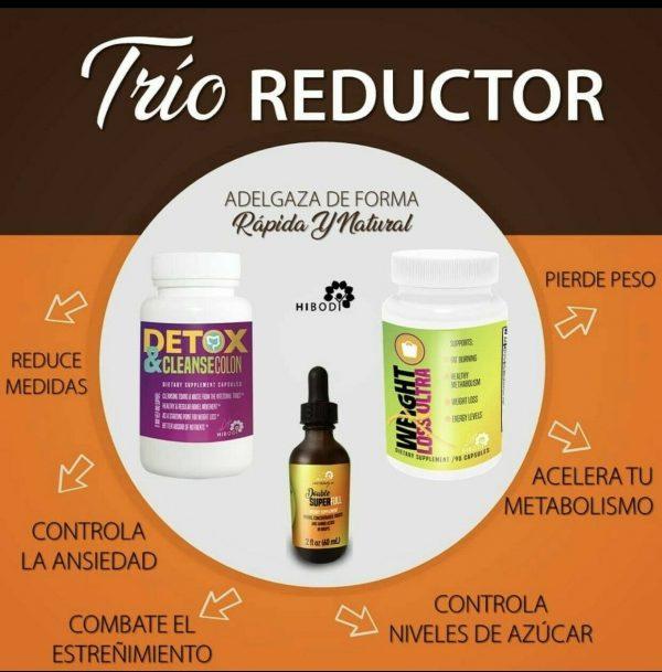HIBODY Reducing Trio/Reductor- Double Super Full 1
