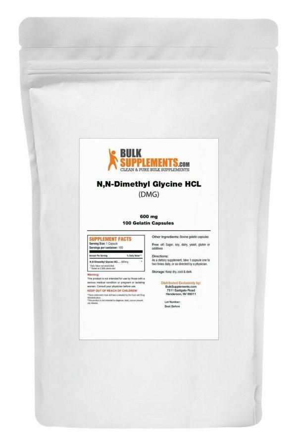 BulkSupplements.com N,N-Dimethyl Glycine HCl (DMG HCl) - Sleep Powder 4
