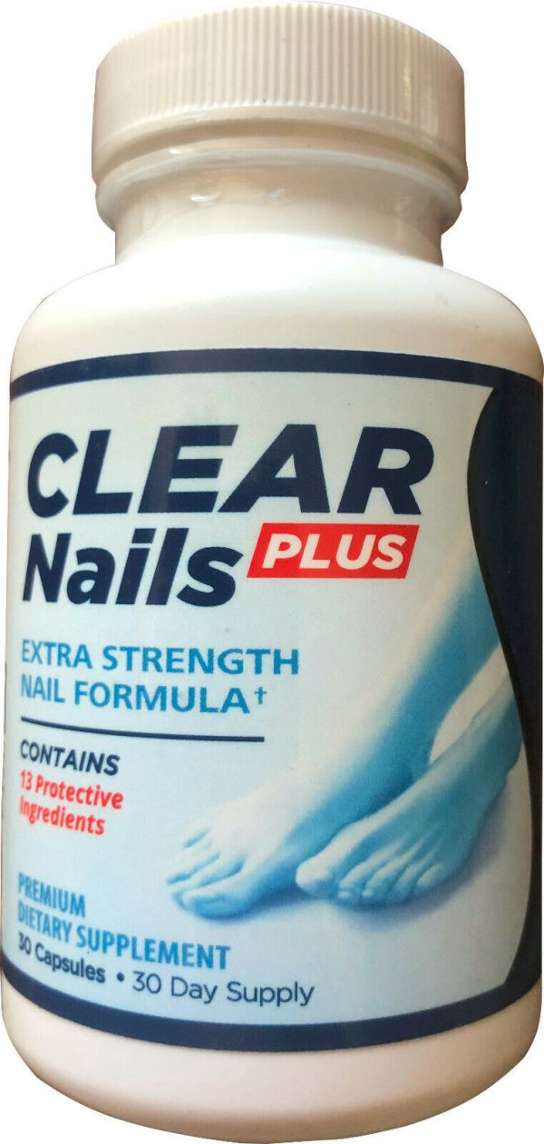 CLEAR NAILS PLUS EXTRA STRENGTH - GENUINE AUTHENTIC PRODUCT - AUTHORIZED SELLER