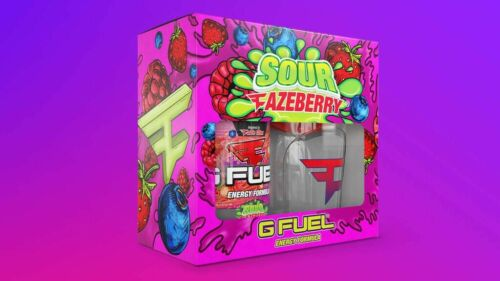 Gfuel Sour Fazeberry Collectors Box Limited Edition Brand New Sealed