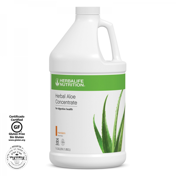 HERBALIFE HERBAL ALOE CONCENTRATE  MANGO, CRANBERRY OR MANDARIN 1/2 gallon 1.89L 1