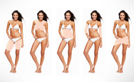 Body Wrap Deluxe Kit - Lose Cellulite and Inches - LOSE 4 TO 25 INCHES IN 1 HOUR 1